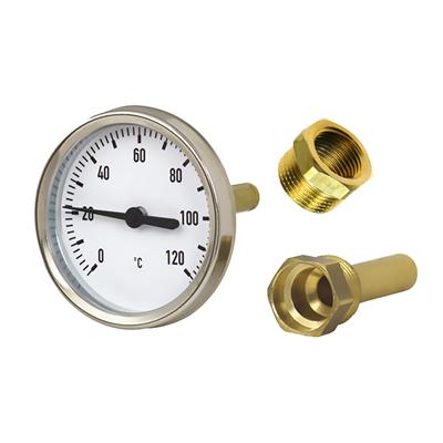Nykomna RSK-Nr 645 50 86 - Temperaturmätare, CTC Termometer 0-120°C 3/4 EA-27